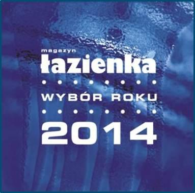 """Łazienka – Wybór Roku 2014"""" Armatur des Jahres 2014"""
