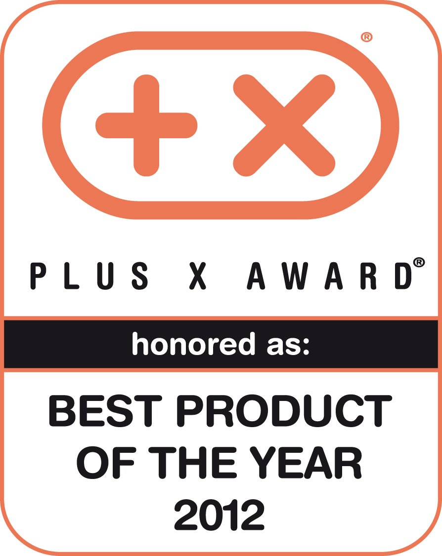Plus X Award 2012 (Bestes Produkt des Jahres 2012)