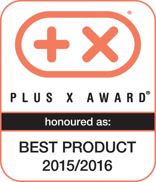 Plus X Award 2015 / 2016 (Bestes Produkt des Jahres 2015 / 2016)