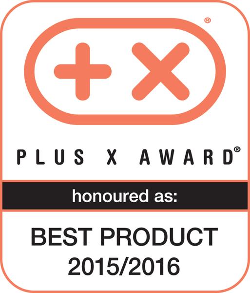 Plus X Award 2015 / 2016 (Bestes Produkt des Jahres 2015 / 2016)