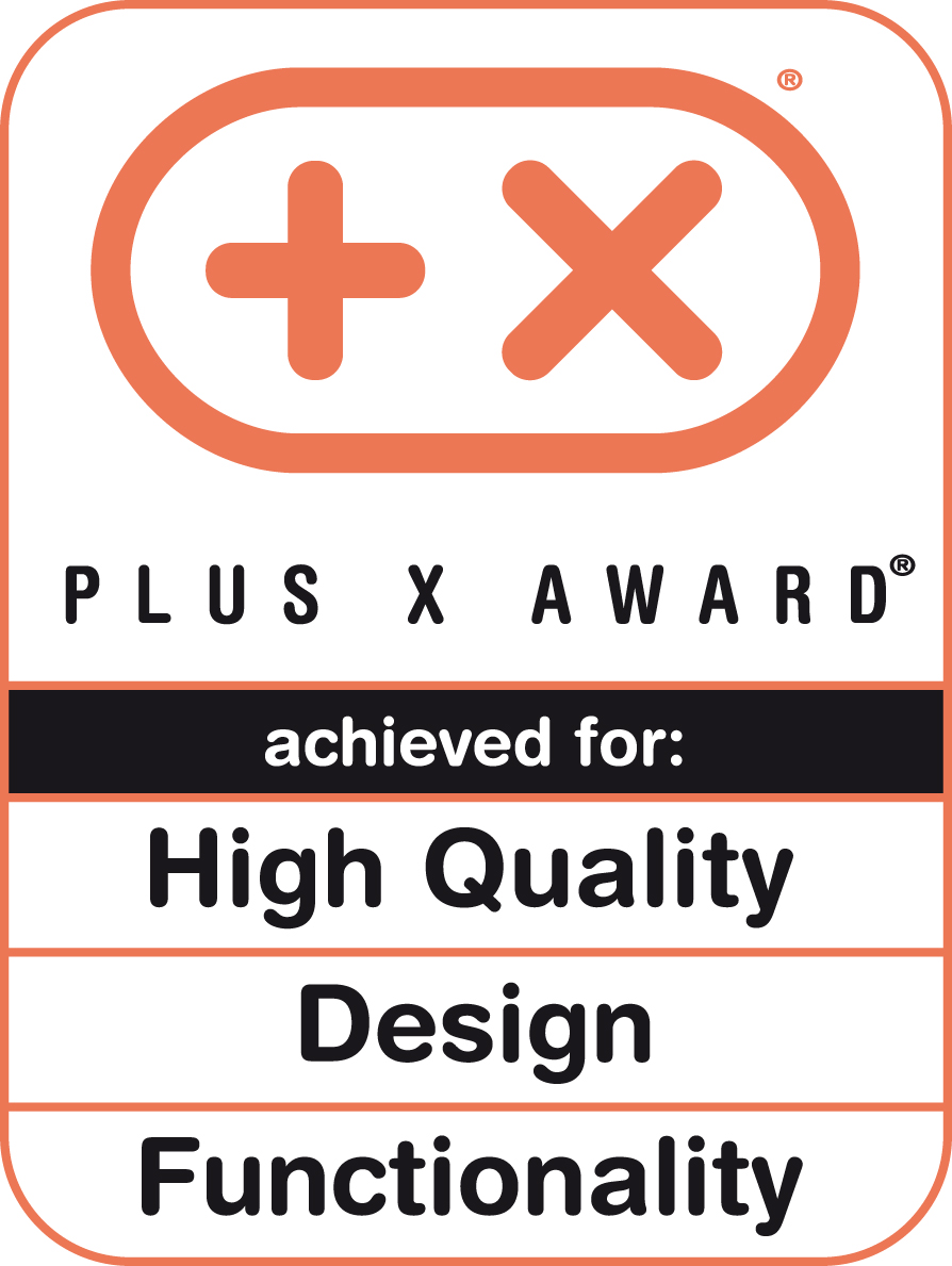 Plus X Award 2015 (High Quality, Design, Funktionalität)