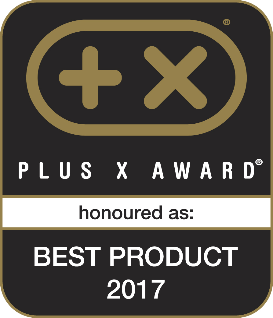 Plus X Award 2017 Bestes Produkt des Jahres 2017