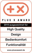Plus X Award: High Quality/Design/Bedienkomfort/Funktionalität (DE)