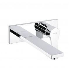 Unterputz-Waschtisch-Zweiloch-Wand-Einhandmischer