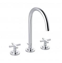 Waschtisch-Dreilocharmatur DN 15