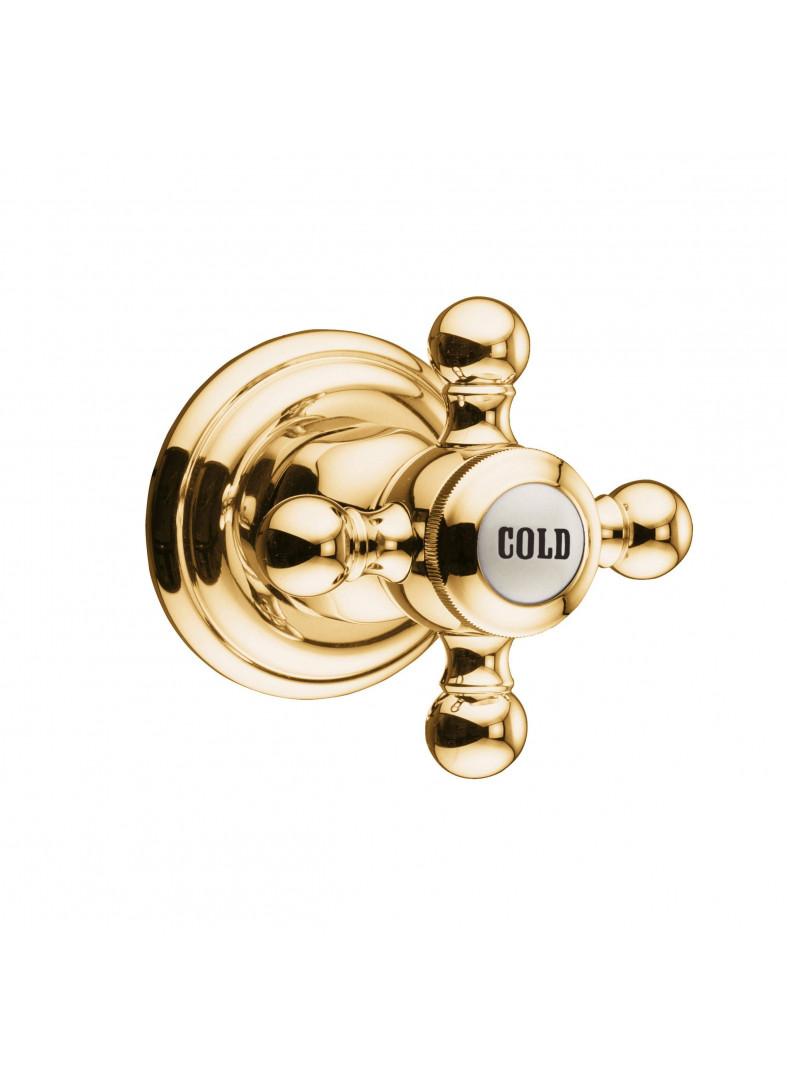 concealed valve, marked COLD
