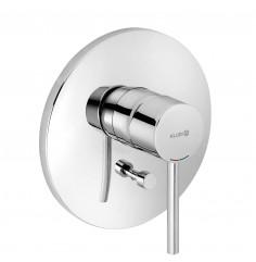 concealedsingle lever bath and showermixer
