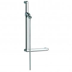barrier-free shower bar