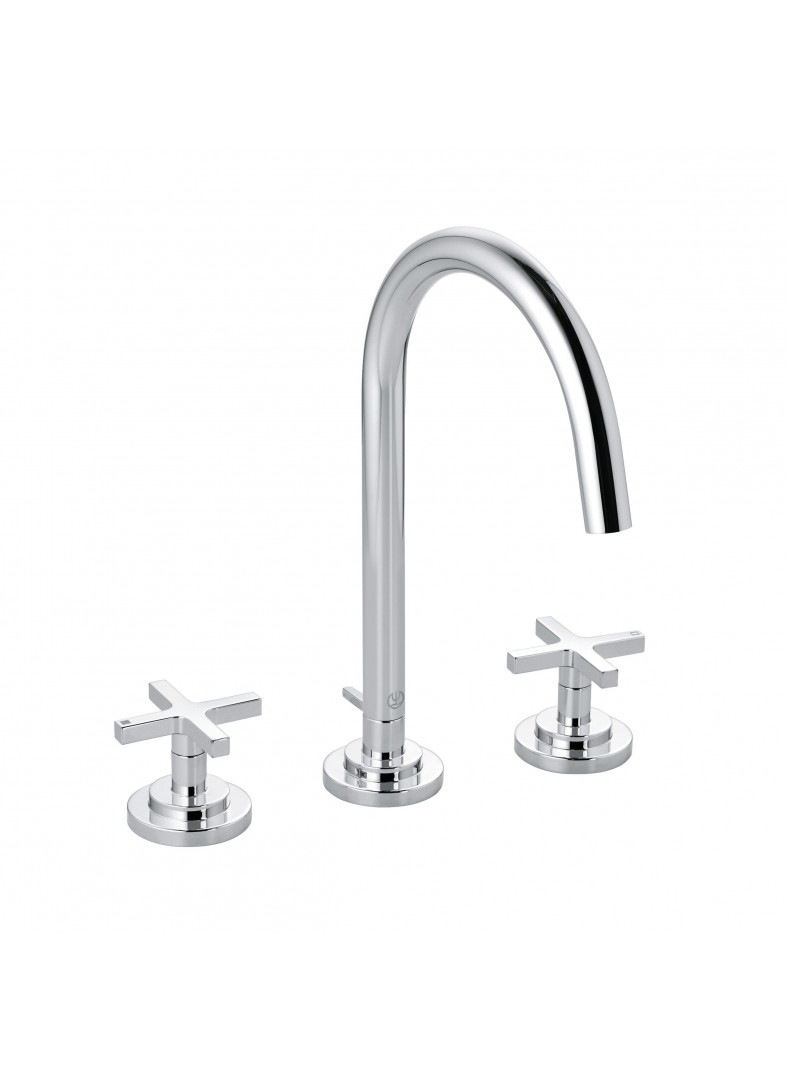 three-hole basin mixer DN 15