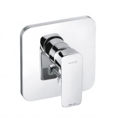 concealed single lever bath and shower mixer