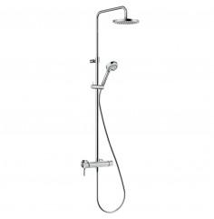 Dual Shower System DN 15 avec mitigeur monocommande