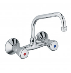 wall mounted sink mixer DN 15
