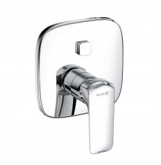 concealed single lever bath and shower mixer Push