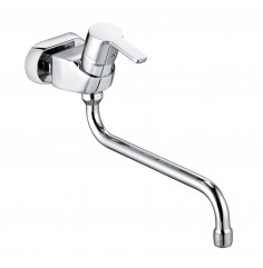 wall mounted single lever sink mixer DN 15