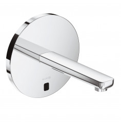 electronic concealed controlled basin mixer