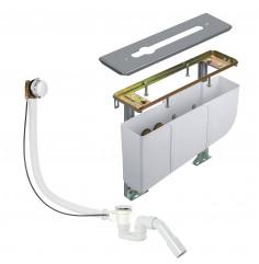 szerelőkeret alsóhidas kádtöltő- és zuhanycsaptelephez