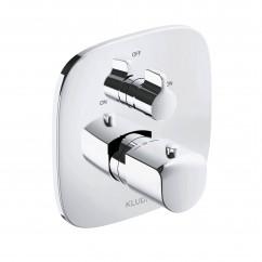 Podomítková termostatická vanová baterie