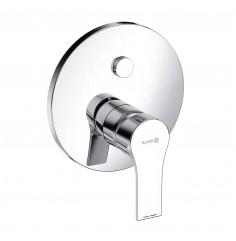 podomietková vaňová a sprchová jednopáková batéria funkcia Push